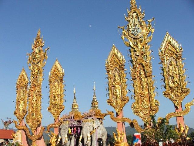 Rejon Złotego Trójkąta nad rzeką Mekong (2009)