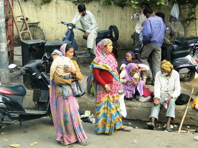 Indie Agra życie ulicy