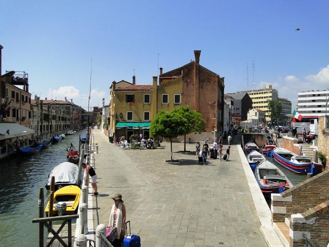 Wenecja kanały