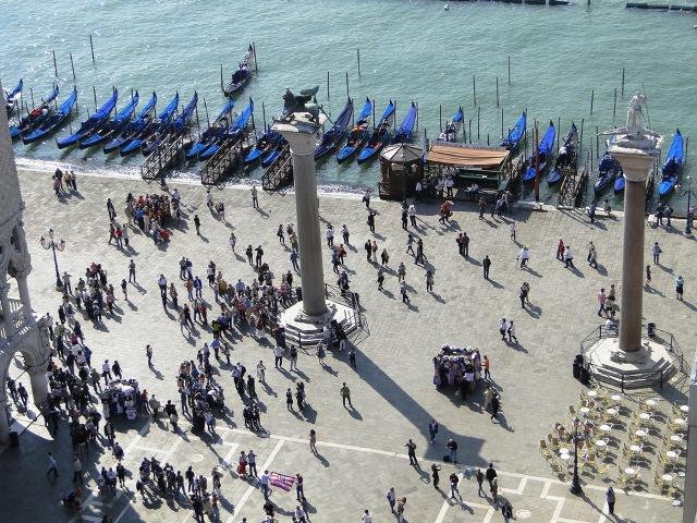 Wenecja widok z dzwonnicy Św Marka