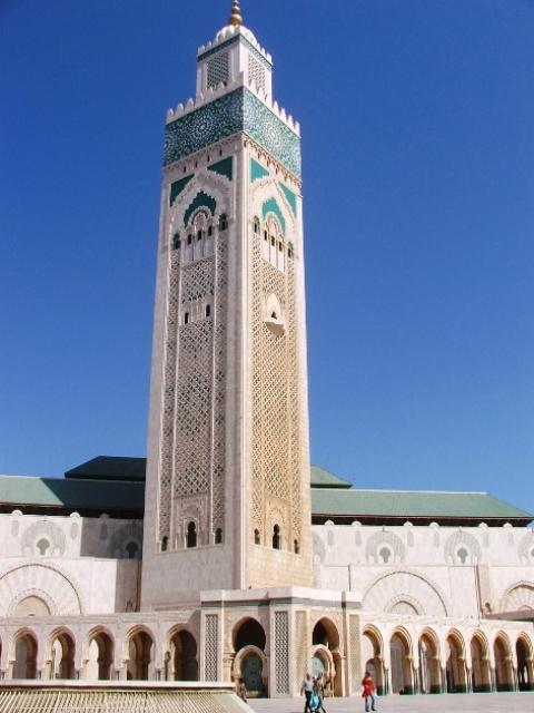 Meczet Hassana II w Casablance (2005)