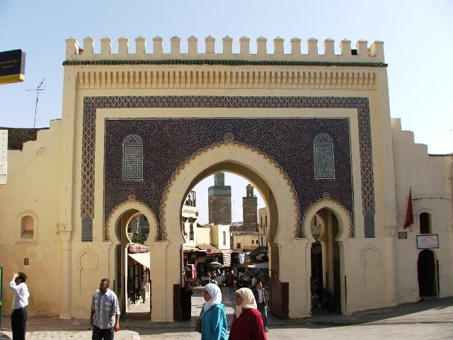 Brama Bab Bou Jeloud do medyny w Fezie (2005)