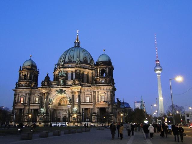 Katedra berlińska (Berliner Dom) zbudowana w latach 1894-1905 (2011)