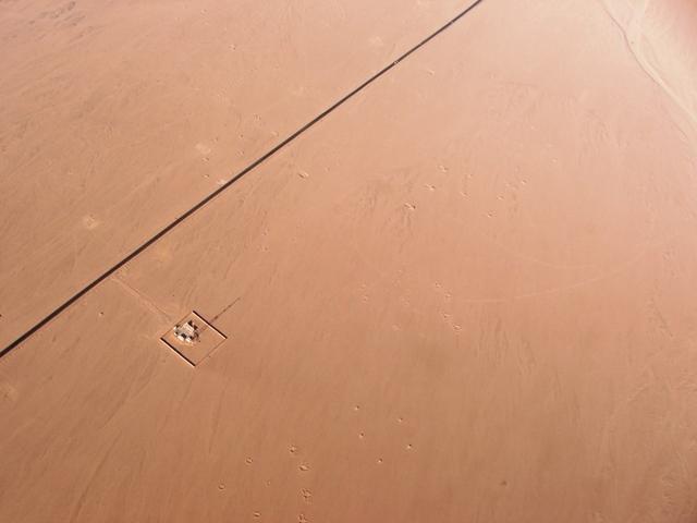 Widok z lotu ptaka na okolice Sharm el Sheikh (2008)