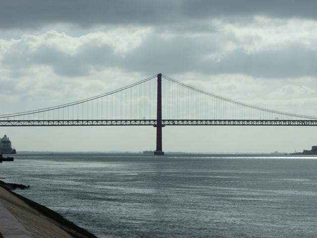 Most 25 kwietnia na rzece Tag (2010)