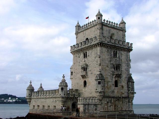 Wieża de Belem wzniesiona za panowania Manuela I miała bronić ujścia Tagu (2010)