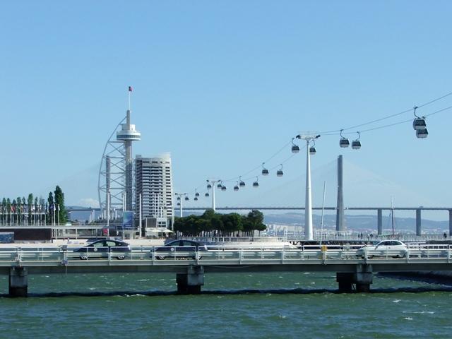 Położony nad Tagiem Park Narodów (Parque das Naçoes) obejmuje tereny po wystawie Expo'98 (2010)