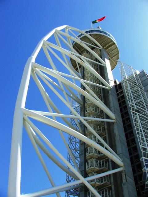 Wieża Torre Vasco da Gama w Parku Narodów (Parque das Naçoes) (2010)