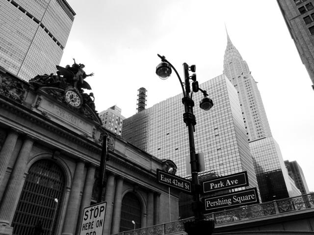 Grand Central Terminal - dworzec kolejowy będący arcydziełem architektury w stylu beaux arts, został otwarty w 1913 roku (2013)