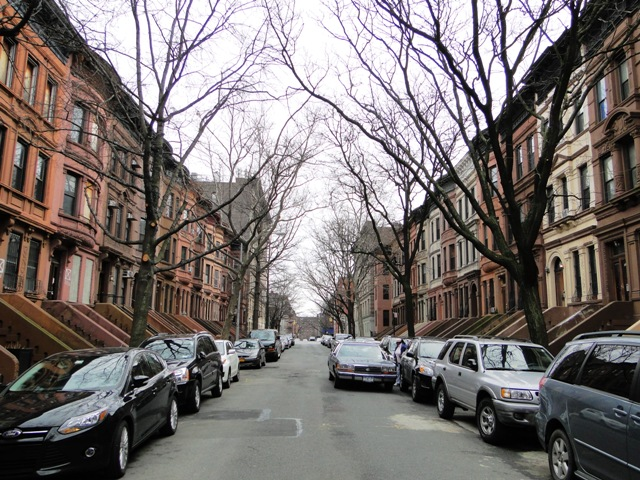 Jedna z ulic w Harlemie (2013)