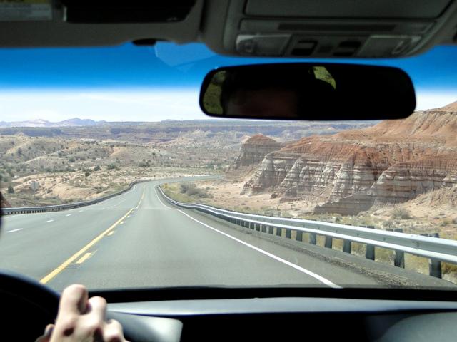 Droga 89 z Page w Arizonie do Kanab w stanie Utah (2013)