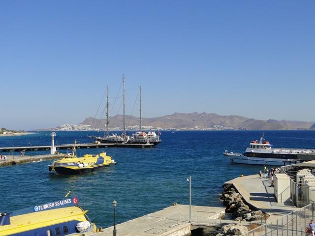 Widok na wybrzeże Turcji z Twierdzy Joannitów (21-28.09.2013)