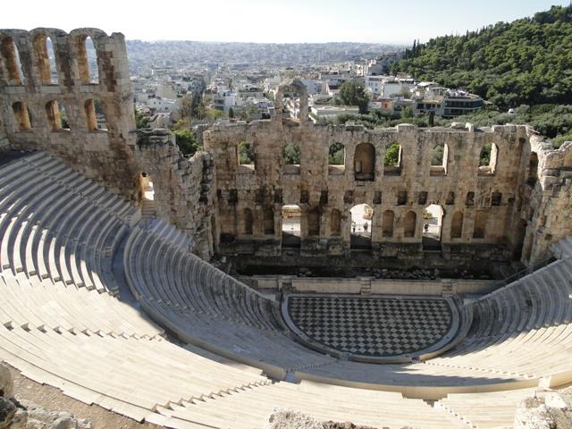 Rzymski amfiteatr Heroda Attyka / The Roman amphitheater of Herodes Atticus (9-11.11.2013)
