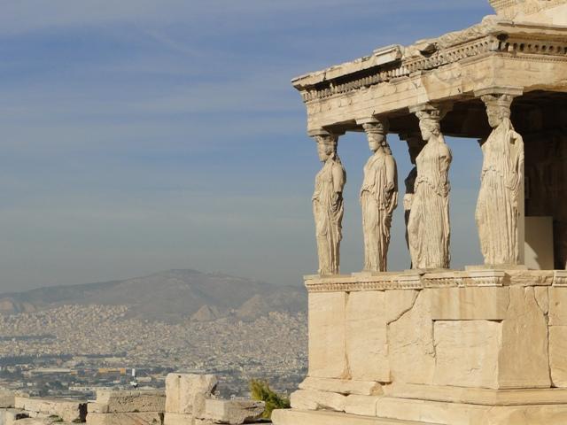 Akropol - Erechtheion (9-11.11.2013)