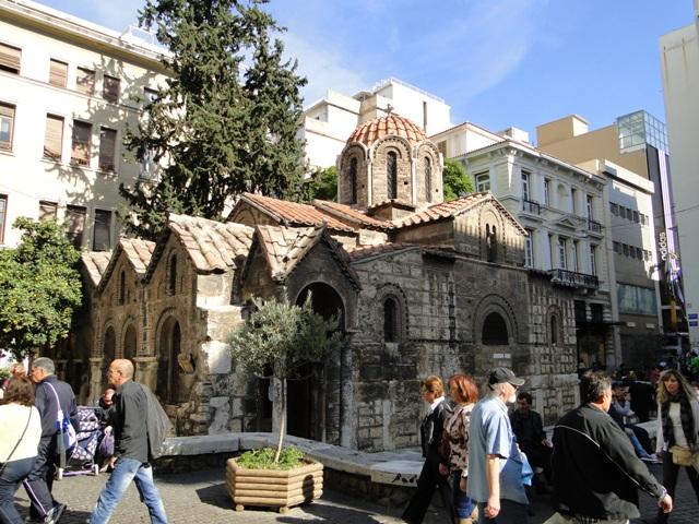 Kościół Panagia Kapnikarea (gr. Εκκλησία της Παναγίας Καπνικαρέας) (9-11.11.2013)