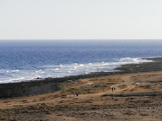 Wybrzeże w rejonie Caleta de Fuste (6-13.01.2013)