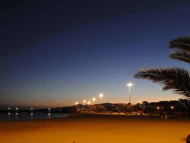 Plaża przy hotelach Elba Carlota i Sheraton Fuerteventura (6-13.01.2013)