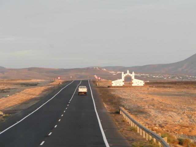 Droga na północ wyspy Fuerteventura (6-13.01.2013)