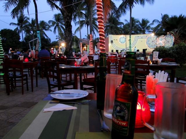 Odpoczynek pod palmami w Gambii, Ocean Bay (11-17.01.2014)