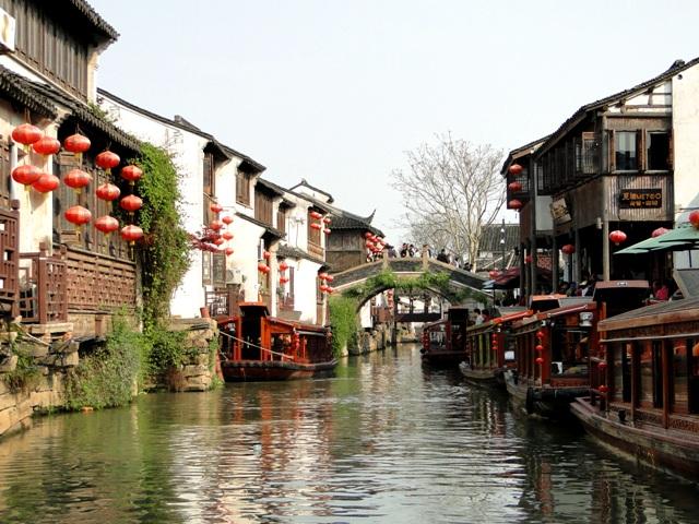 Suzhou - stare miasto (12.04.2015)